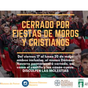 Fiesta de Moros y Cristianos 2019: Cerrado