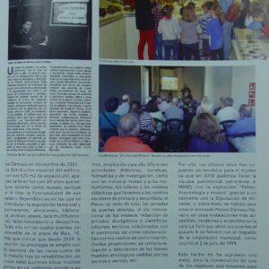 El viernes pasado en El Carrer recordamos el 20 aniversario de la creación del Museo Dámaso Navarro