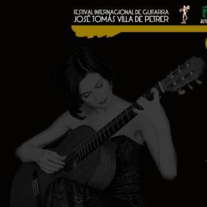 El viernes 19 de julio disfrutaremos del concierto de guitarra de Mirta Álvarez en el castillo de Petrer