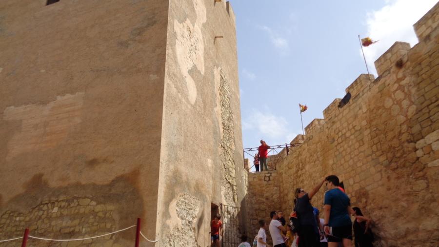 Interior Castillo Petrer