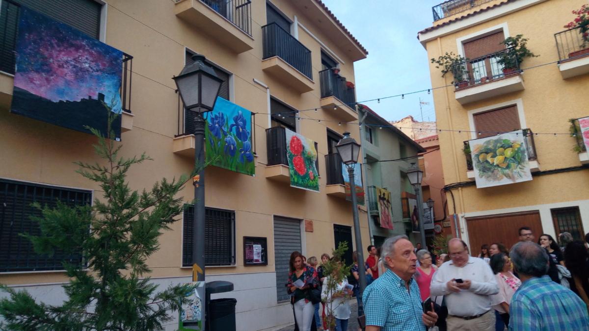 Inauguración Art al Balcó Petrer 2019