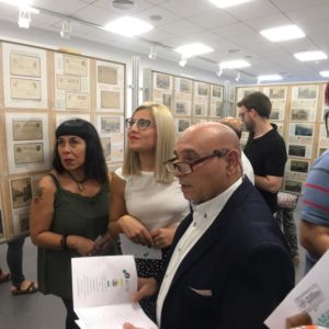 El Museu Dámaso Navarro homenatjat en la XXXVII Exposició de la Societat Filatèlica i Numismàtica de Petrer