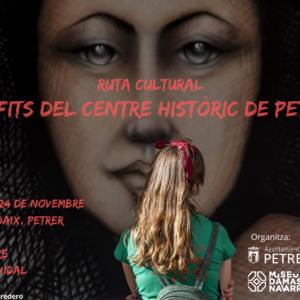 Nueva ruta cultural: grafitis del centro histórico de Petrer