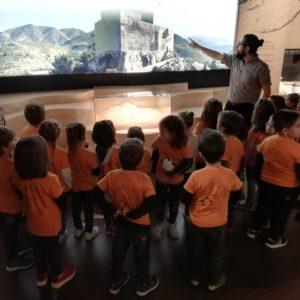 Comienza el curso escolar en el Museo de Petrer: visita del Colegio Reina Sofia