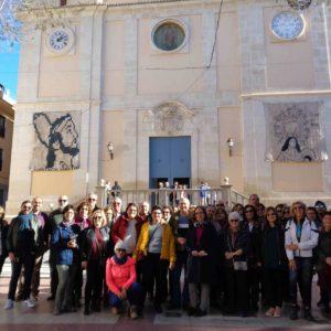 Fin de semana de rutas: «del Vinalopó al exilio» y «Templos e Historia» en Petrer