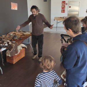 Estrenem DIDARQ amb el taller de Prehistoria