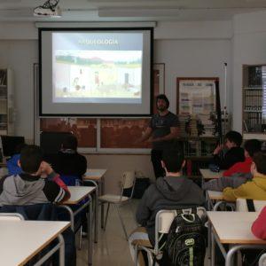 Estudiants d'ESO de l'IES Poeta Paco Mollá realitzen un viatge sense retorn