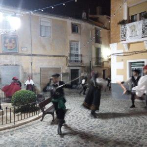 Vive una demostración de esgrima histórica en el castillo de Petrer