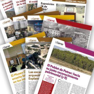 """Aprén del passat"" 100 retazos de historia y patrimonio petrerense"