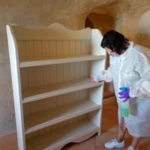 Preparando los monumentos de Petrer para su próxima apertura