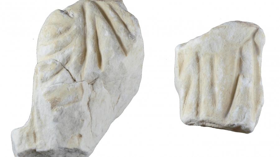 Corpus escultura - sarcófago Villa Petraria
