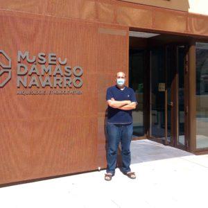 Entrevista al director del Museo Dámaso Navarro en SER Elda sobre patrimonio petrerense