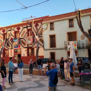 Se ha inaugurado la exposición Art al balcó en el centro histórico de Petrer