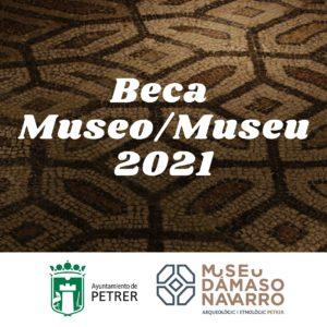 Puntuación definitiva de la beca de formación 2021 para el Museo Dámaso Navarro