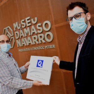 """El Museo Dámaso Navarro es uno de los 10 museos de España que tiene la marca """"Q"""" de Calidad Turística"""