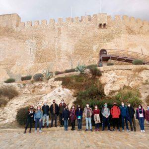 Estudiantes del grado de Historia de la Universidad de Alicante visitan Petrer