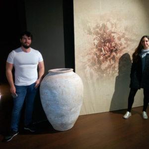 Lola Vidal i José Daniel Busquier s'han incorporat amb les seues beques al museu per al 2021