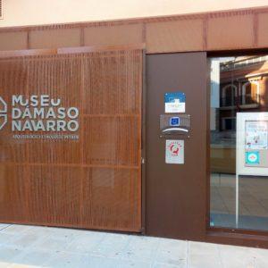 El Museu Dámaso Navarro compleix dos anys en les noves instal·lacions del carrer La Font