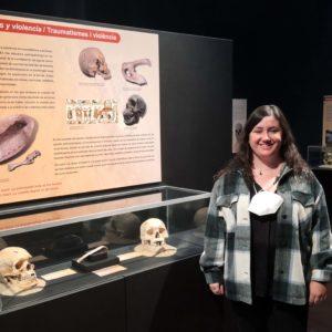 Carolina Santos, turismòloga, comença les seues pràctiques del màster en el Museu Dámaso Navarro