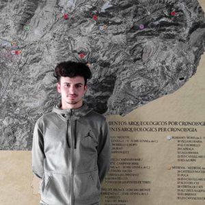 Juan Luis López se incorpora como estudiante en prácticas en el Museo Dámaso Navarro