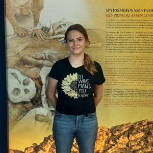 María Guillén, nueva estudiante de Historia que elige el Museo Dámaso Navarro para realizar sus prácticas
