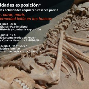 """Conferencia, visita y taller familiar de la exposición """"Cuidar, curar, morir"""" en el Museo Dámaso Navarro"""