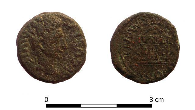 Moneda-romana-donación-Salvador-Poveda
